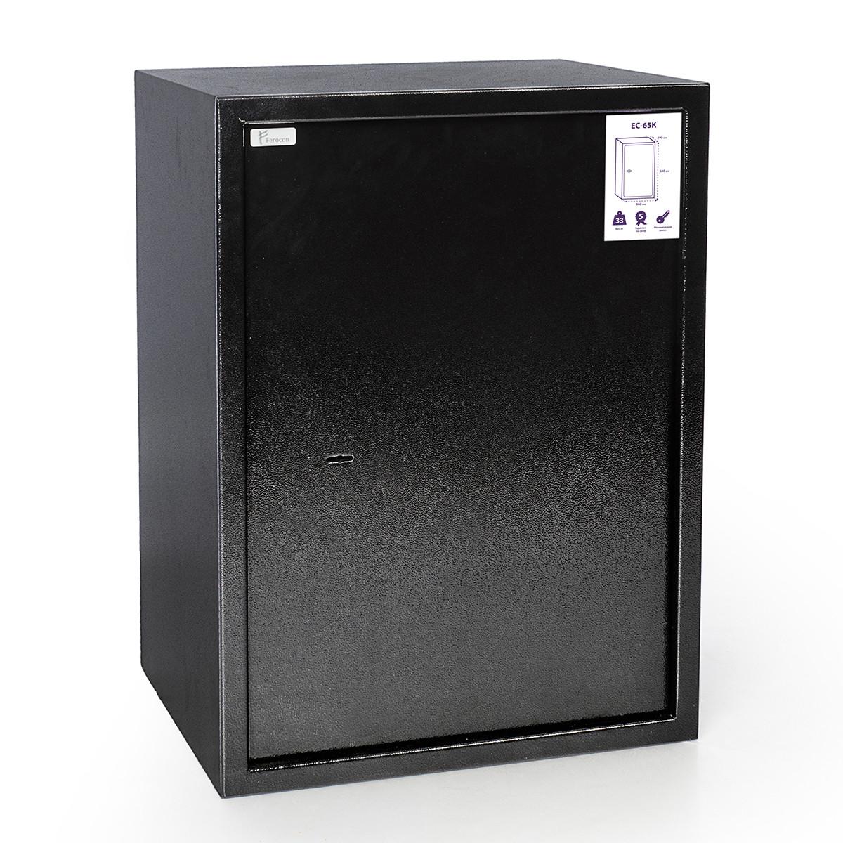 Офисный сейф Ferocon ЕС-65К (ЕС-65К.Т1.П1.9005)