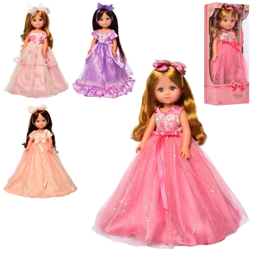 Кукла девочка жемчужина Limo Toy M 5425 UA  мягконабивная музыкальная