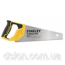 "Ножовка STANLEY  STHT20349-1 ""Tradecut"", универсальная, с закаленными зубьями, L=380мм, 11 tpi."