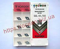 Пластина т/с змінна DCMT 070202-PF VGP201 VORGEN