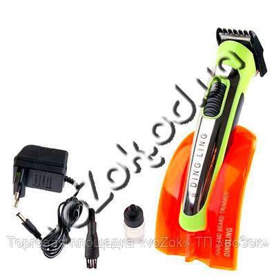 Триммер на аккумуляторной батарее Professional Hair Clipper Trimmer DingLing RF-607 для стрижки бород и волос