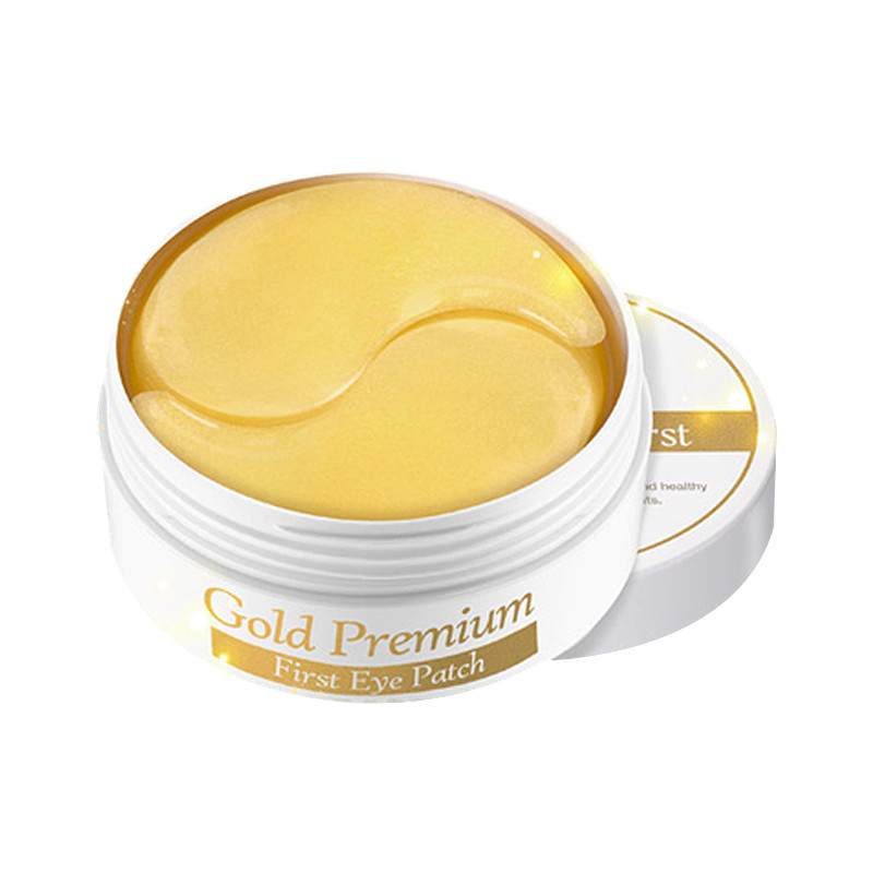 Secret Key Gold Premium First Eye Patch Гидро-гелевые патчи под глаза