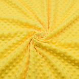 Плюш minky желтого цвета для пошива пледов, игрушек, фото 3