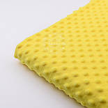 Плюш minky желтого цвета для пошива пледов, игрушек, фото 5