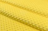 Плюш minky желтого цвета для пошива пледов, игрушек, фото 4