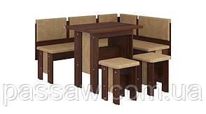 Кухонный уголок с раскладным столом Аристократ
