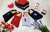 Носки женские зимние махровые хлопок Nike Турция размер 35-39 микс