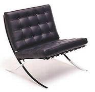 Кресло Барселона черное
