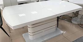Стіл обідній в стилі модерн Colorado (Колорадо) DT-82-3  Evrodim, білий