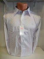Рубашка мужская SHAFT, длинный рукав, разводы, стрейч 001 \ купить рубашку