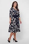 Платье расклешенное Луиза цветы, фото 6