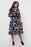 Платье расклешенное Луиза цветы, фото 9