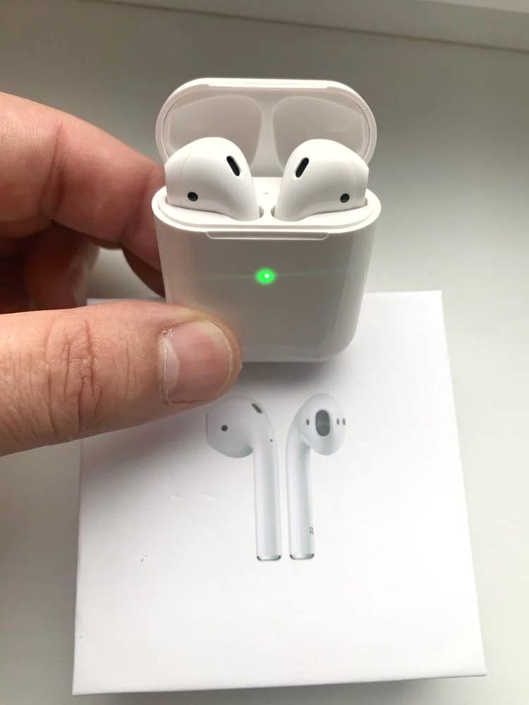 Беспроводные сенсорные Bluetooth наушники I9000 Airpods 2 TWS  Новейшие Беспроводные наушники