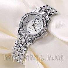 Женские наручные часы Lupai на стальном браслете (Серебристые)