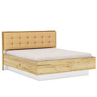 Двухспальная Кровать BLONSKI Camilla Q с мягким изголовьем 160х200