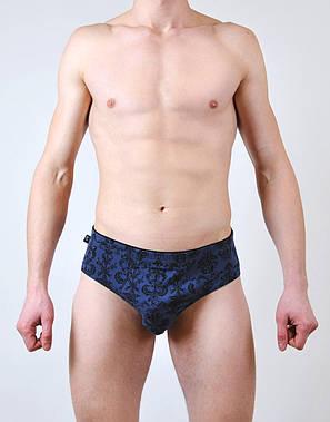 Мужские трусы - слип C+3 #114 M  синий, фото 2