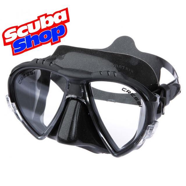 Набор Cressi-Sub Pro Star (маска Matrix+трубка Gamma+ласты Pro Star) черный