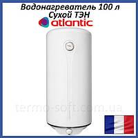 Бойлер 100 литров Atlantic Steatite Elite. Электрический накопительный водонагреватель с сухим ТЕНом