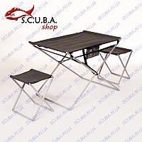 """Комплект стола и 2-х стульев """"Трансформер"""""""