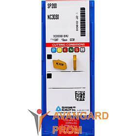 Пластина KORLOY SP-200 NC3030