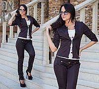 Стильный женский пиджак с короткими рукавами