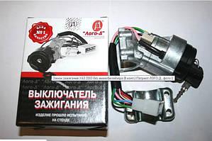 Замок зажигания УАЗ 3163 без иммобилайзера (8 конт.) Патриот ЛОГО Д