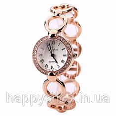 Женские кварцевые часы-браслет Lvpai (Золотистые)