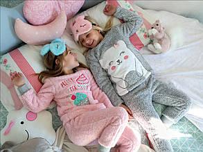 Детский домашний костюм для девочки Tobogan Испания 88805 Серый
