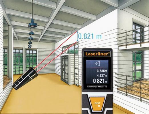 Лазерный дальномер Laserliner LaserRange-Master T3