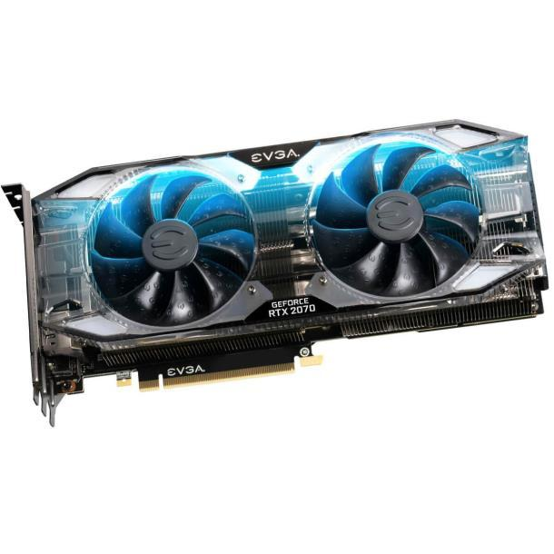 Видеокарта EVGA GeForce RTX 2070 XC ULTRA GAMING 8 Gb (08G-P4-2173-KR)