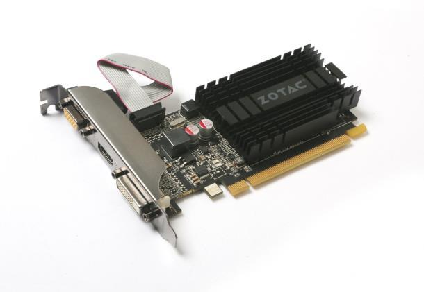 Видеокарта Zotac Zone GeForce GT 710 1GB DDR3 64 bit (ZT-71301-20L)