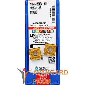 Пластина KОRLOY SNMG 120404-HM NC3020