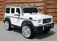 Детский электромобиль M 3567EBLR-1 ( 4WD. 12V\14A) Mercedes G65 AMG белый