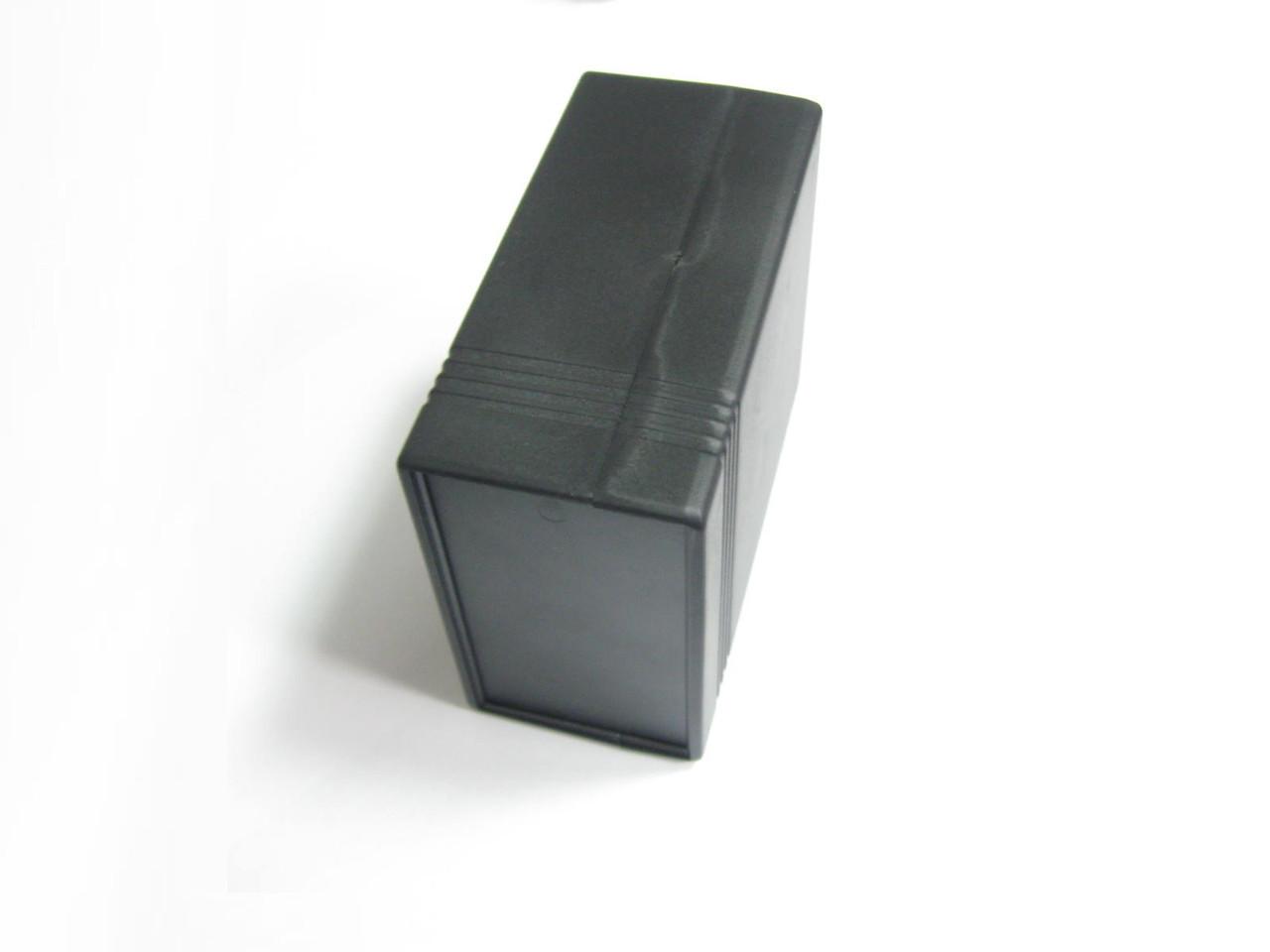 Корпус универсальный D110 (чёрный пластик)
