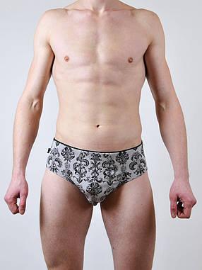 Чоловічі труси - сліп C+3 #114 XL світло сірий, фото 2