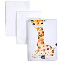 Сменный постельный комплект Veres Giraffe 3 ед