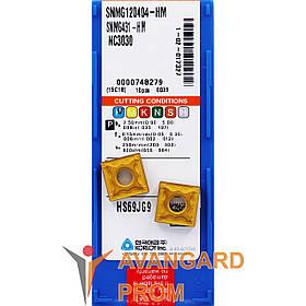 Пластина KОRLOY SNMG 120404-HM NC3030