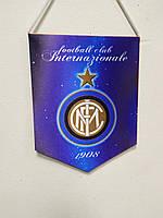 Вымпел футбольный с гербом FC Inter.