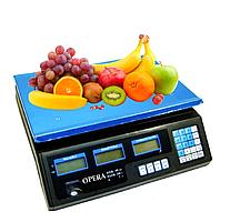 Электронные торговые весы Opera Plus до 50 кг
