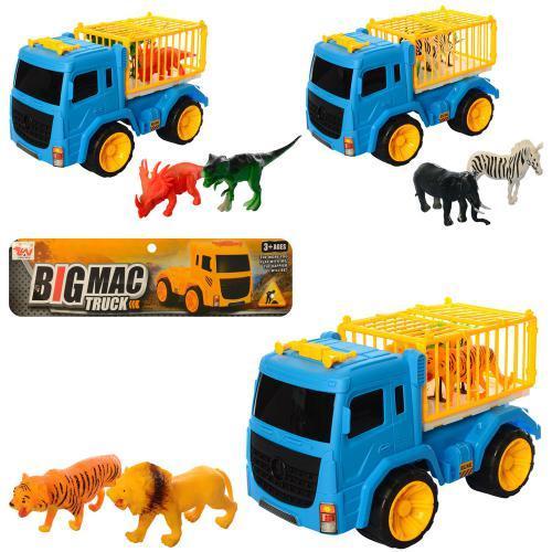 Игровой набор трейлер с животными 800-3-4-5 машинка детская