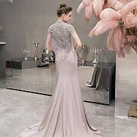Вечернее платье. Платье рыбка. Вечірня сукня. Очень красивое вечернее платье ручной работы, фото 1
