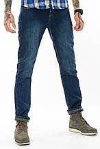 Джинсы мужские утепленные Franco Benussi FB 16-625-4661 темно-синие