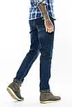 Джинсы мужские утепленные Franco Benussi FB 16-625-4661 темно-синие, фото 3