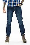 Джинсы мужские утепленные Franco Benussi FB 16-625-4661 темно-синие, фото 5