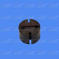 Подушка подвески глушителя Газель,3307 круглая С/О