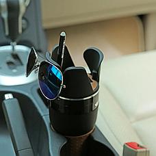 Органайзер подстаканник 5 в 1 автомобильный, держатель автомобильный, автомобильный подстаканник, фото 3