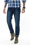 Джинсы мужские утепленные Franco Benussi FB 16-625-4661 темно-синие, фото 9