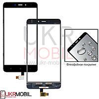 Сенсор (тачскрин) Xiaomi Redmi Note 4, Original, с олеофобным покрытием, Black