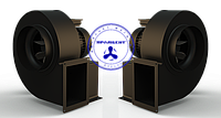 Трифазний радіальний вентилятор Dundar CT 21.4