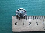 Нержавеющий одинарный зажим SIMPLEX для троса, А4 (AISI 316)., фото 7
